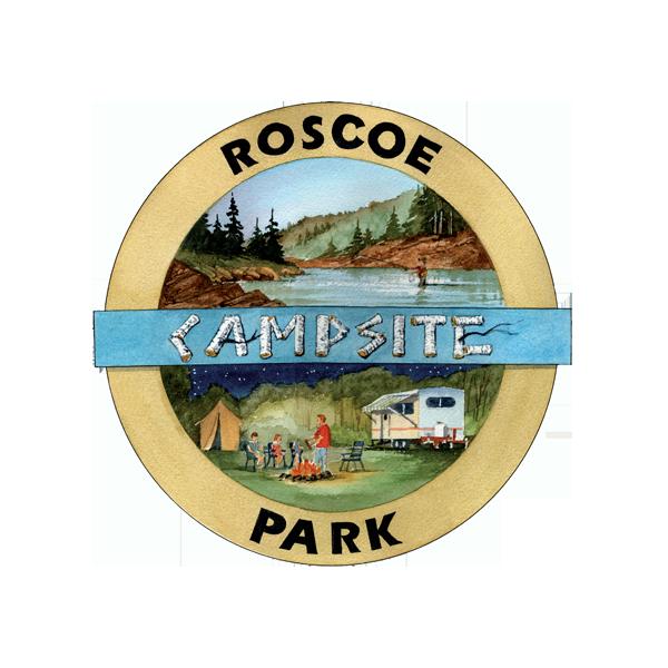 Roscoe Campsite Park logo