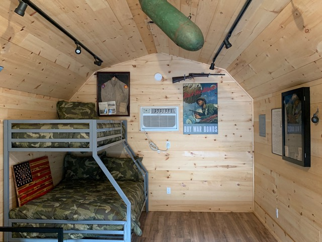 military cabin