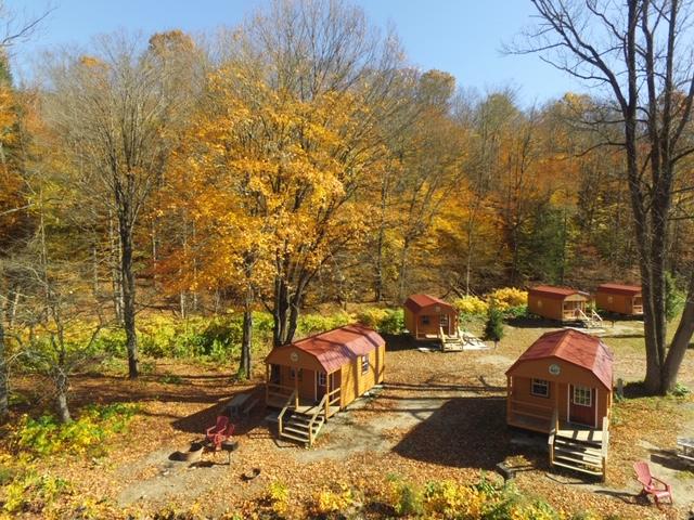 barn style bunk cabin