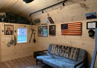 Military cabin image
