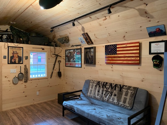 military cabins