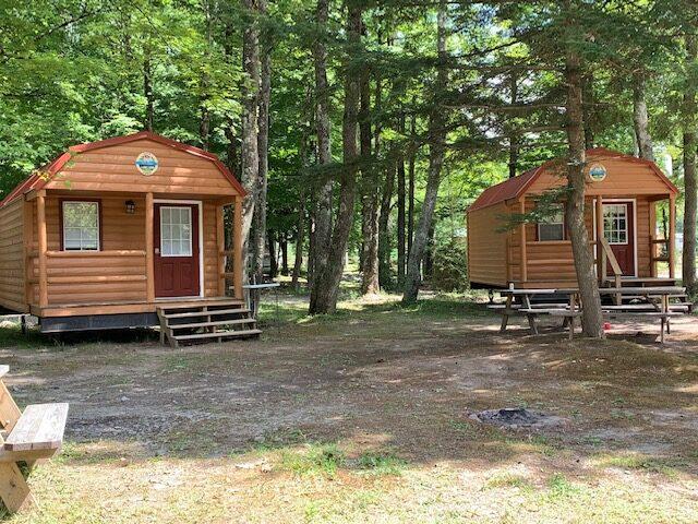 Barn style cabins