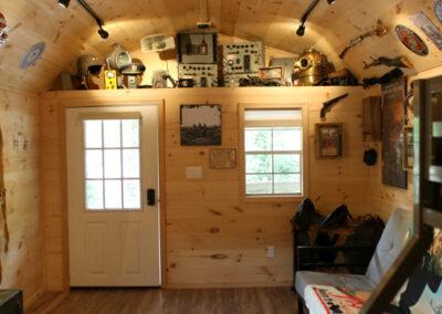 military cabin photos